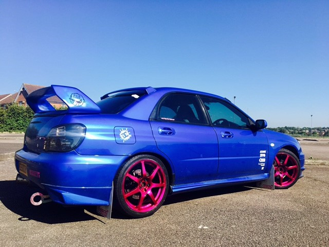 Subaru pink